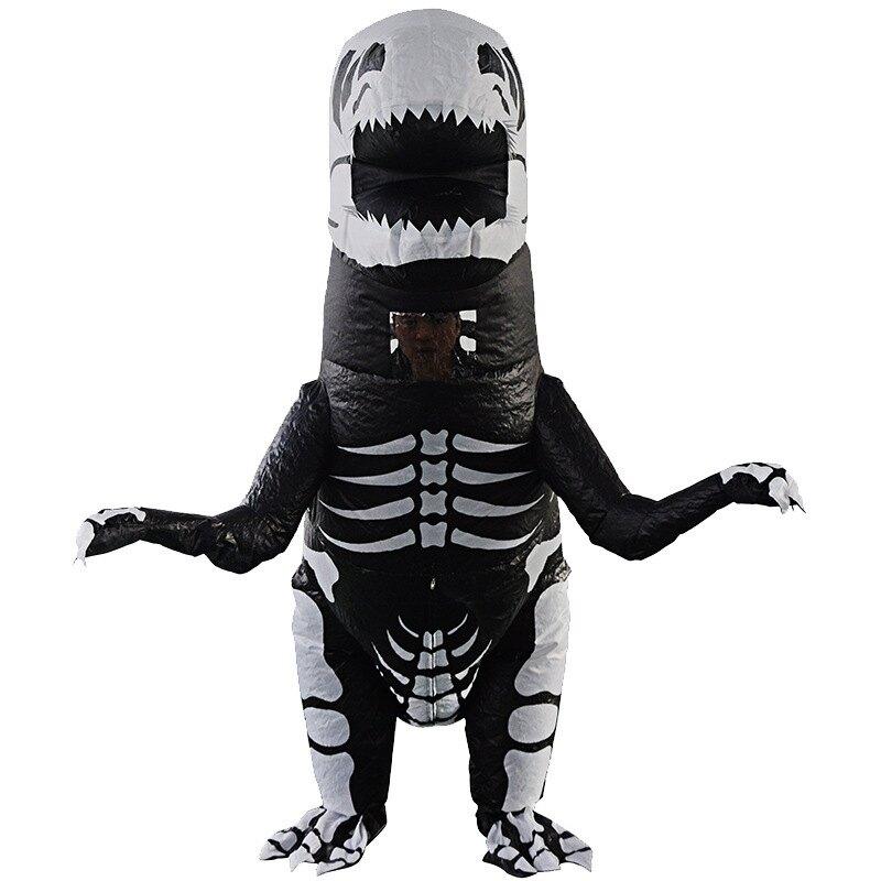 萬圣節充氣服裝恐龍充氣服派對表演道具服成人兒童搞笑卡通道具  雙十二特惠 聖誕節