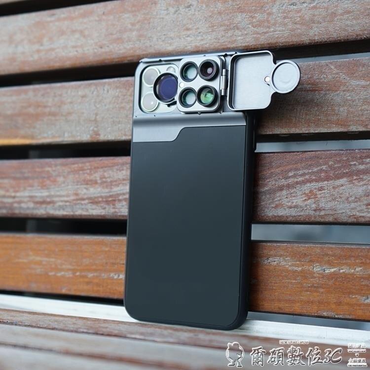廣角鏡頭 iPhone11手機外置廣角鏡頭蘋果11proMax專用單反微距長焦偏光魚眼LX