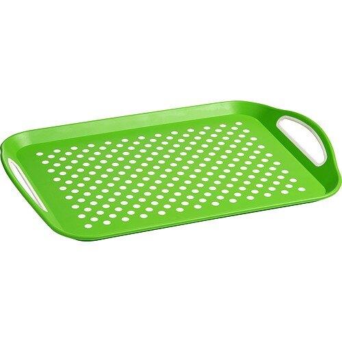 《Premier》長方止滑托盤(綠)