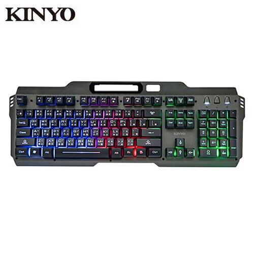 KINYO 懸浮電競發光鍵盤GKB3000【愛買】