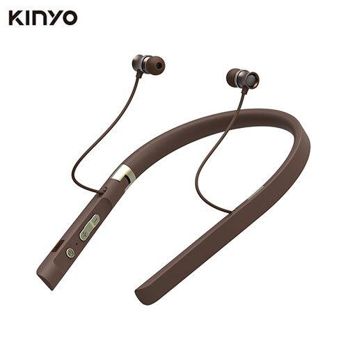KINYO 吸磁頸掛式藍牙耳機BTE3730【愛買】