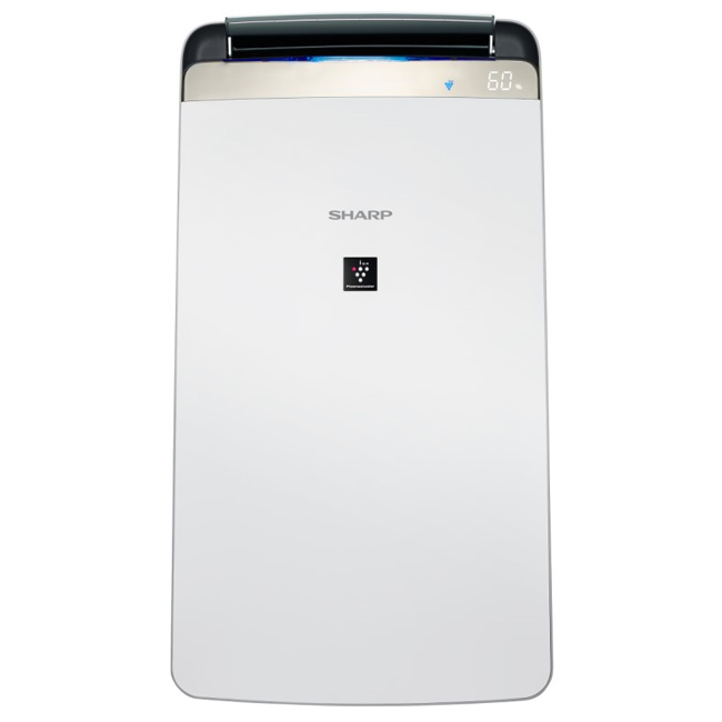 【SHARP夏普】10L自動除菌離子空氣清淨除濕機 DW-J10FT-W