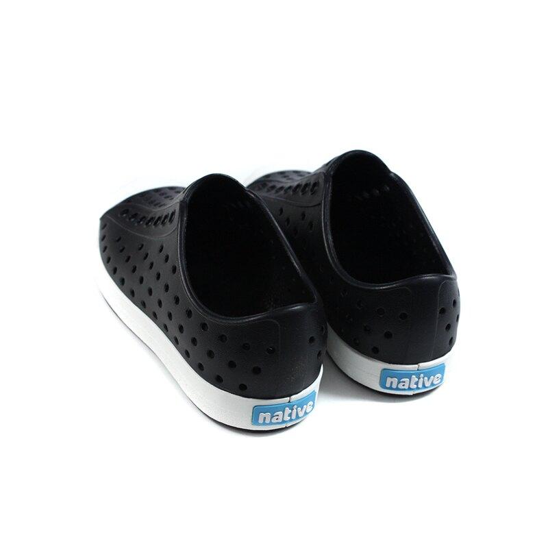 native JEFFERSON 懶人鞋 洞洞鞋 黑色 小童 童鞋 15100100-1105 no011