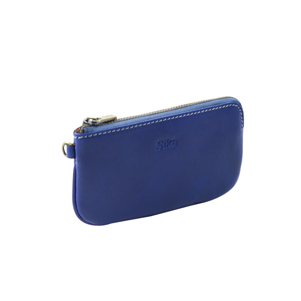 sika大零錢包-亮寶藍