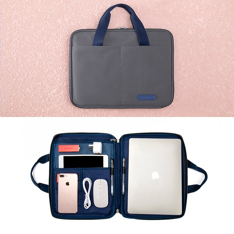 公文包 大容量手提A4資料文件袋書袋文件包防水商務女士公文包證件收納袋【xy2160】