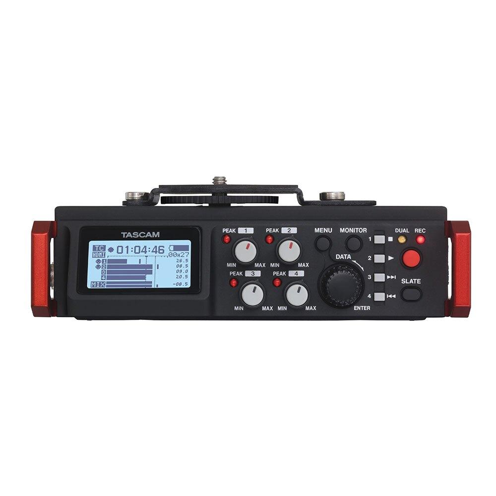 TASCAM 達斯冠 單眼用錄音機 DR-701D (台灣總代理公司貨)