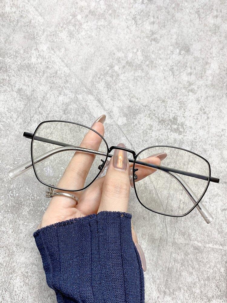 鏡架 眼鏡女可配網紅款復古眼鏡框正韓潮素顏平光鏡男『CM396807』