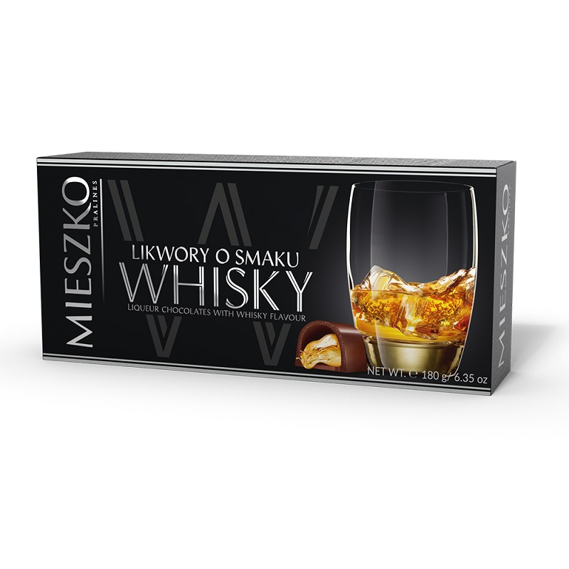 Mieszko美仕格威士忌酒心巧克力180g
