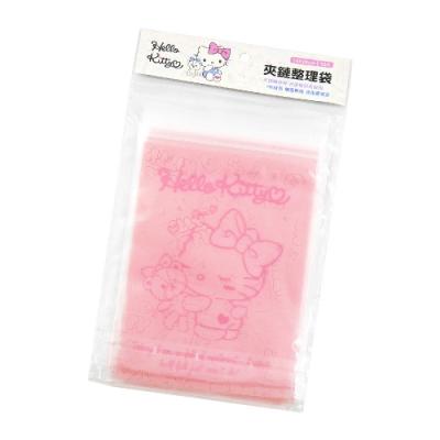 Hello Kitty夾鏈袋-小熊系列-L-粉色-10入X6包