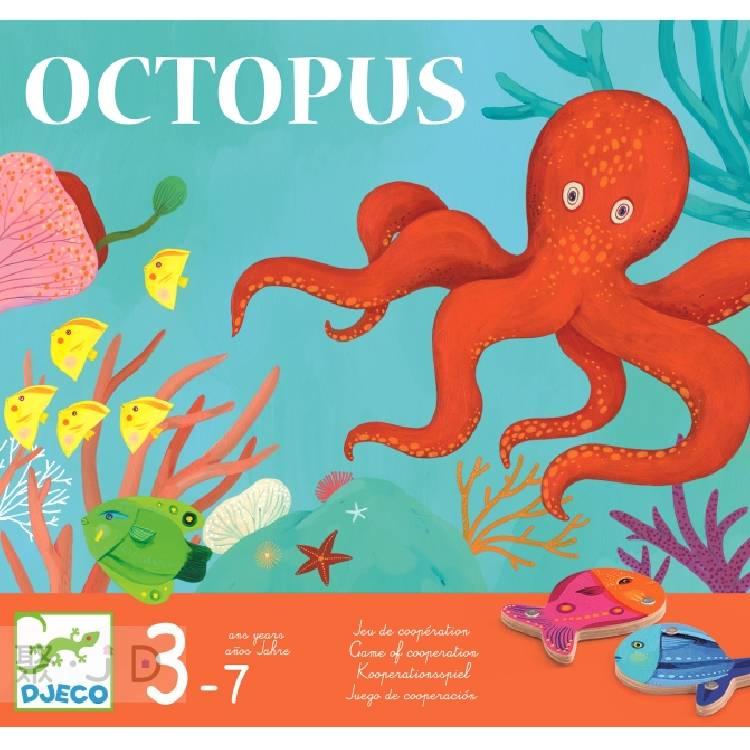 【DJECO 智荷】DJ08405 益智桌遊 - 章魚先生氣撲撲 Octopus