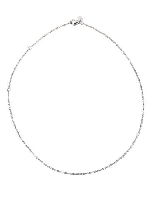 Tom Wood - Rolo Chain-link Necklace - Mens - Silver