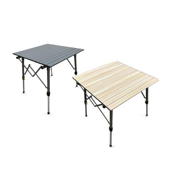 【Lumikenk露米】無段式鋁捲桌/70 蛋捲桌 露米桌 居家 露營 登山 戶外