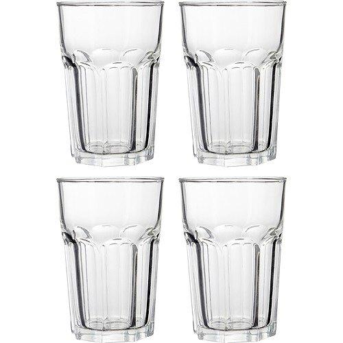 《Premier》豎紋玻璃杯4入(500ml)