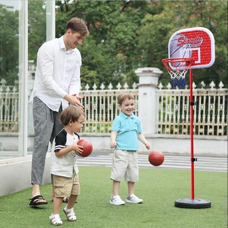 兒童籃球架可升降室內投籃框寶寶皮球男孩球類玩具2-3-5-6周歲10  雙12購物節 YTL 8號時光