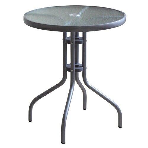 奧利爾玻璃圓桌(60x70cm)【愛買】