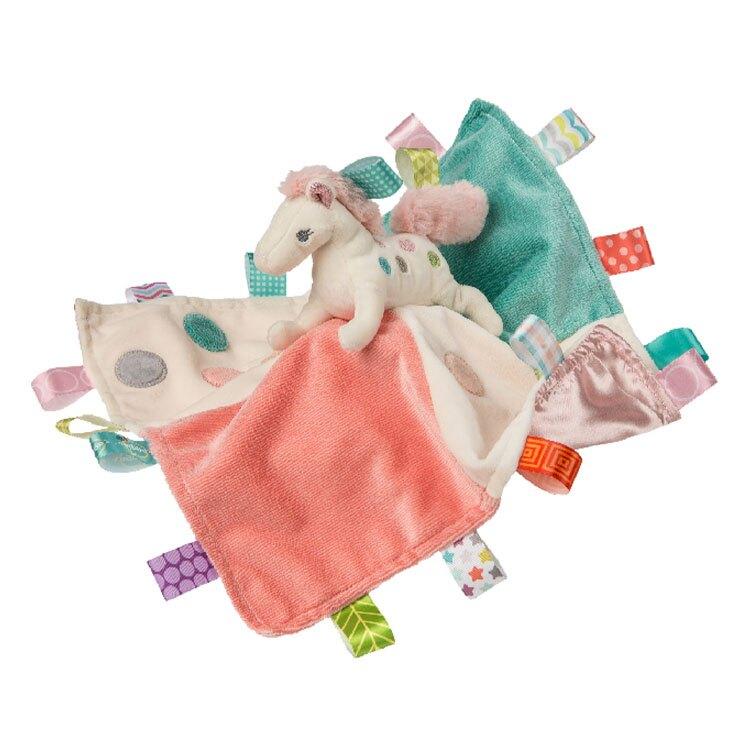 美國 MaryMeyer 親膚安撫巾標籤系列-彩虹小馬