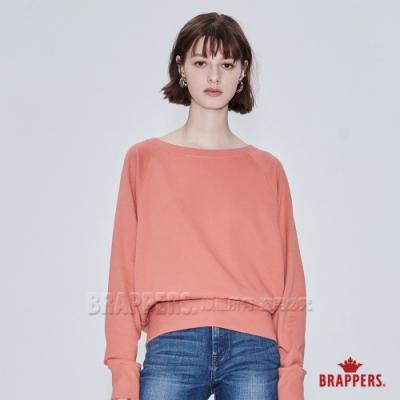BRAPPERS 女款 船型領造型T-橙色