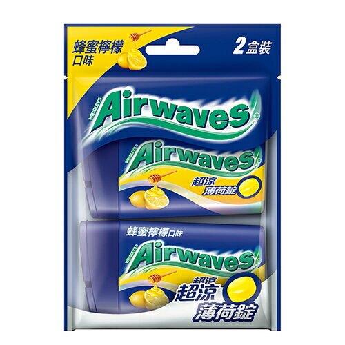 Airwaves超涼薄荷錠-蜂蜜檸檬49G【愛買】