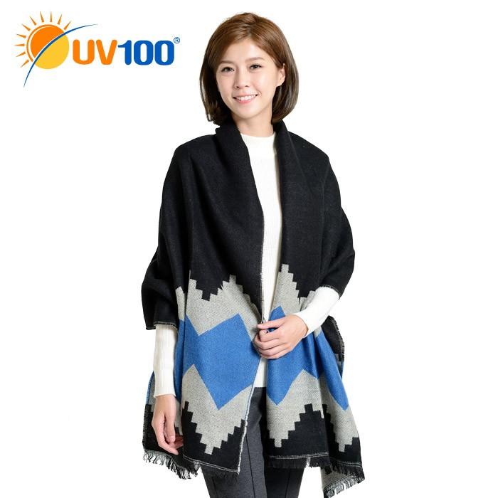 【UV100】 防曬 多功能口罩式保暖圍巾-附濾片(QD61722)