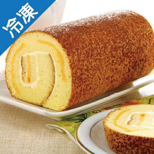 芝士捲蛋糕12公分/條【愛買冷凍】