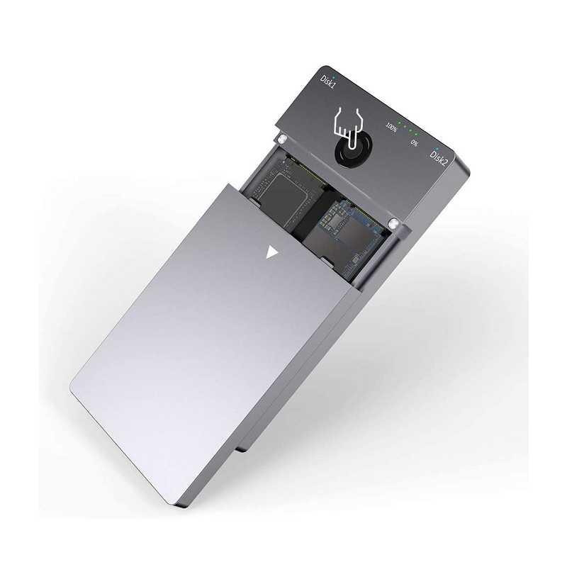 Type C 3.1 Gen2固態硬碟 SK-ME921 支援10Gbps離線複製 適用於NVMe PCIe M.2 SSD [9美國直購]