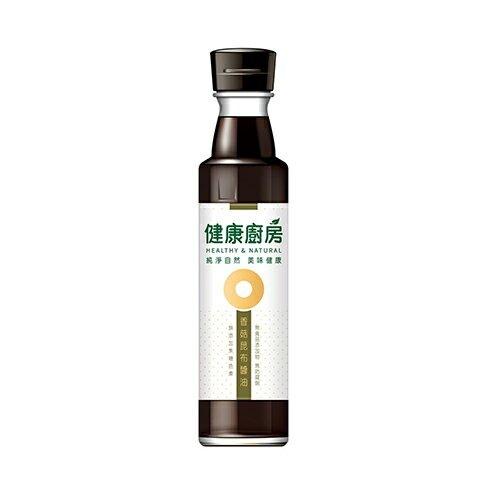 健康廚房-香菇昆布醬油300ML【愛買】