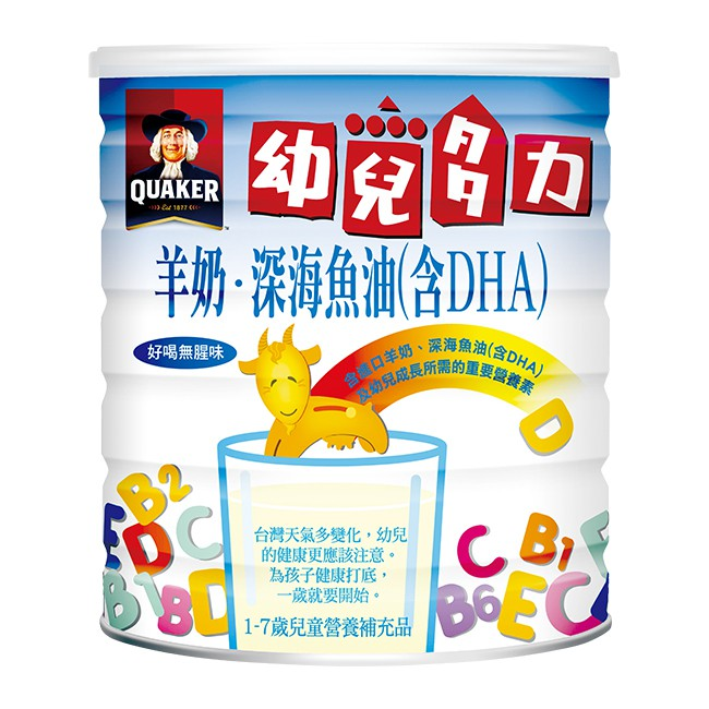 桂格羊奶幼兒多力 1350g/罐 【大潤發】