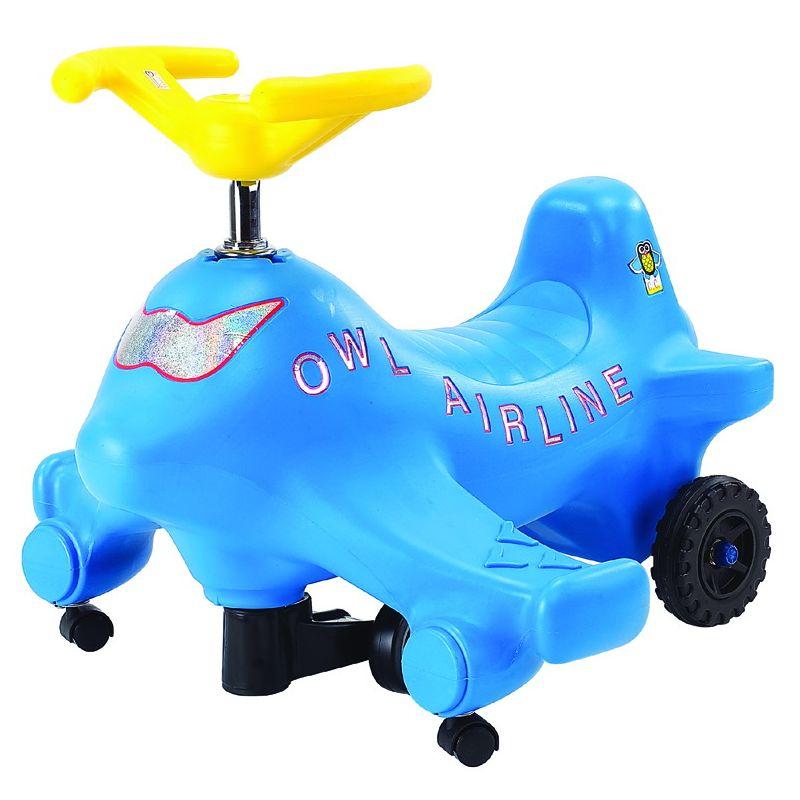 (宅)Ching Ching親親-飛機扭扭車(藍)CA-06★愛兒麗婦幼用品★