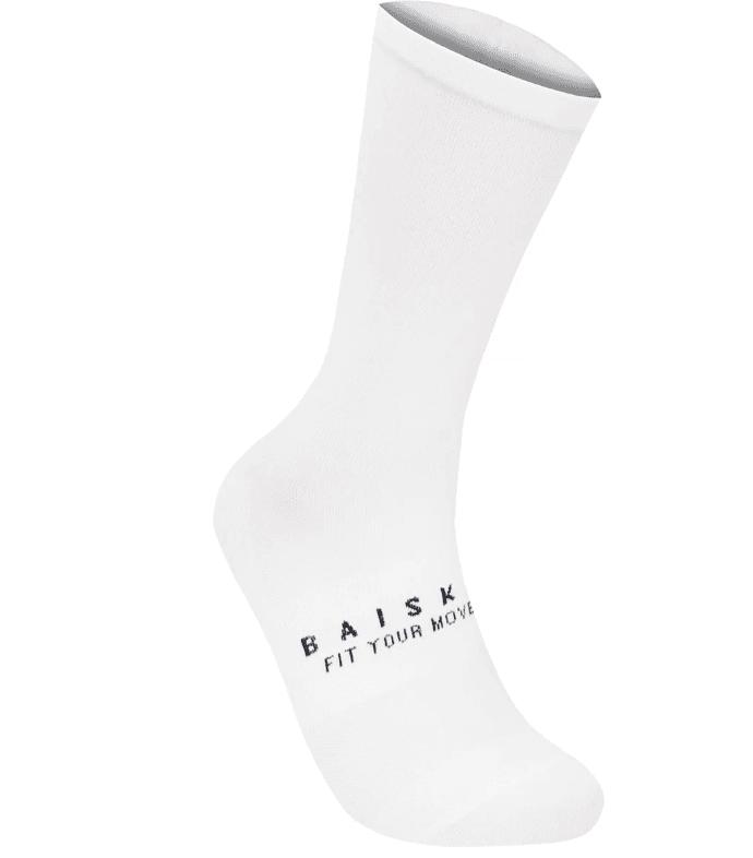 BAISKY運動襪 潔淨 白