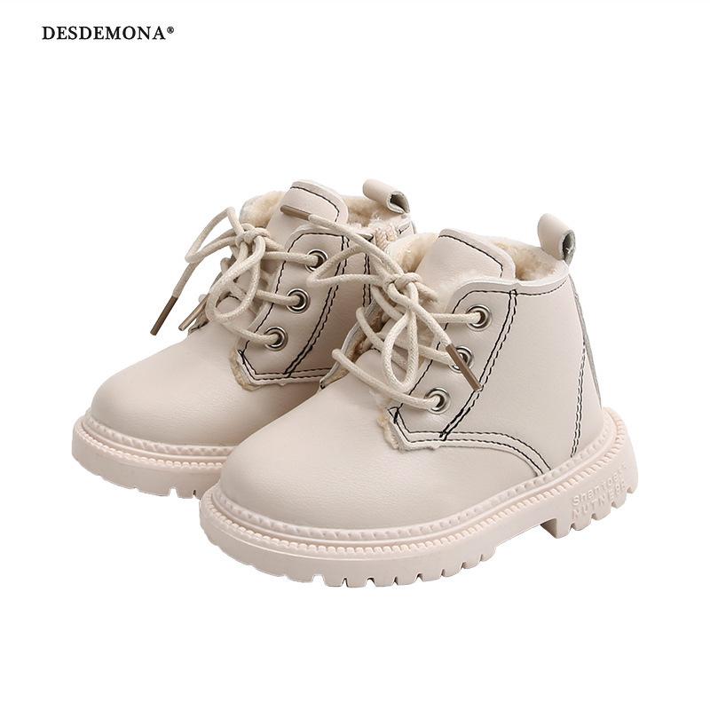 一件代發女童加絨棉鞋寶寶靴馬丁靴1-6歲鞋秋季外貿款童鞋批發3
