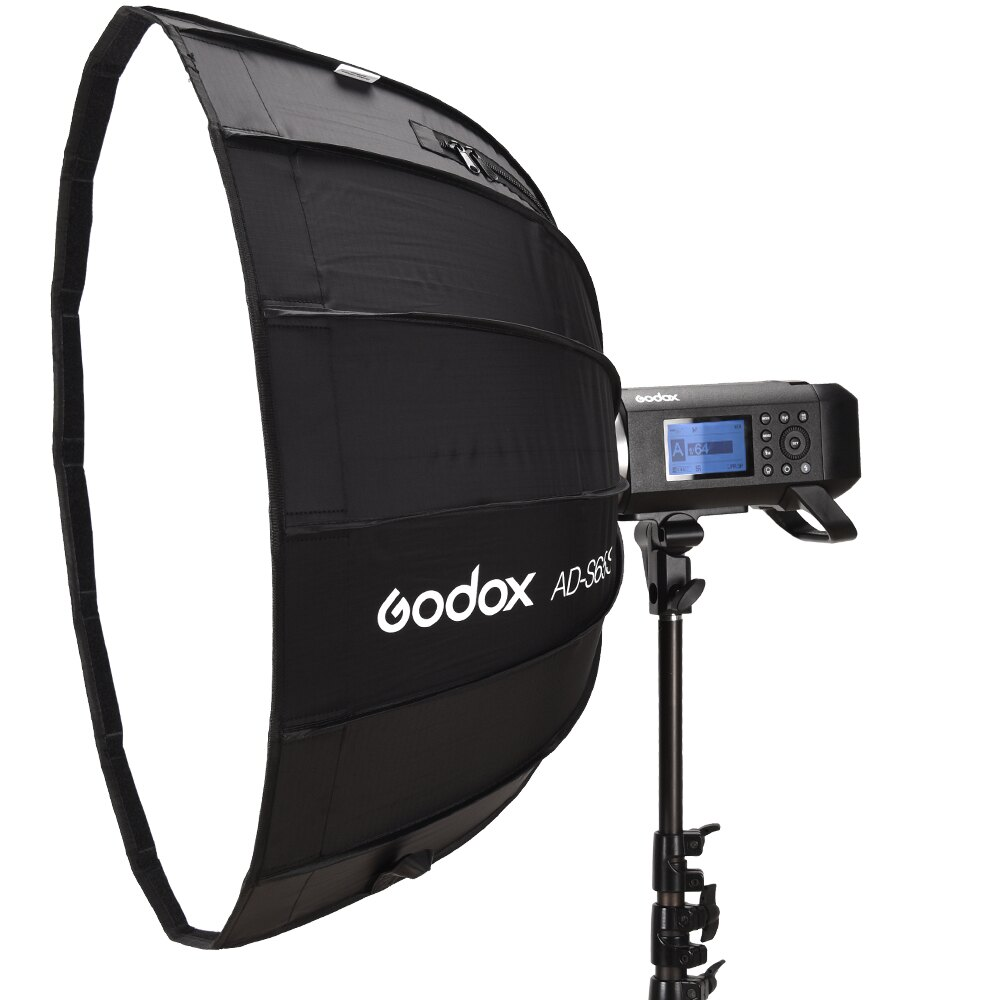 Godox 神牛 AD-S65S 摺傘式柔光罩 銀色 65cm(AD400Pro-S65S公司貨)