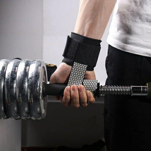 運動護腕防滑握力帶2入組(38X8cm) [大買家]