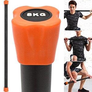 BODY BAR有氧健身8KG體操棒(長桿120CM跳操平衡棒.重量棒形體棒韻律棒.塑形棍塑身棍8公斤負重量訓練長槓心.運動器材用品.推薦哪裡買PTT)  C113-5608