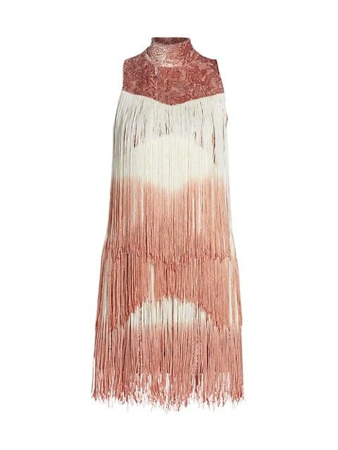 Mayla Fringe Mini Dress