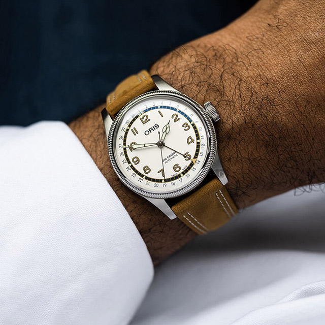 ORIS 豪利時 Roberto Clemente限量腕錶 0175477414081-Set