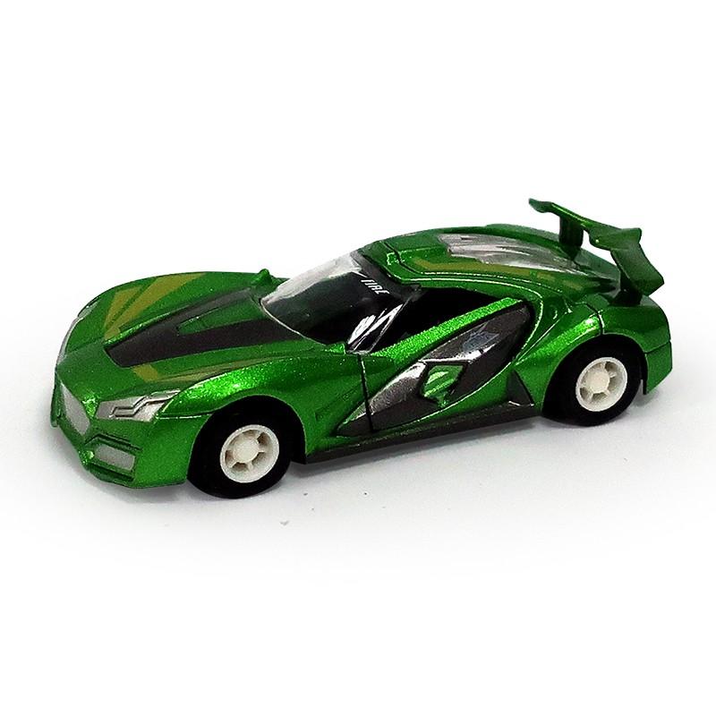迷你合金小車-炫風跑車 (綠)