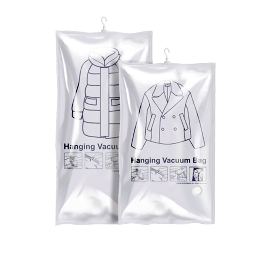 [95折]免抽氣 可掛式 懸掛式 真空收納袋 真空壓縮袋 壓縮袋 收納 空間 真空袋 衣物收納袋 衣櫃收納 防潮 防霉 防塵