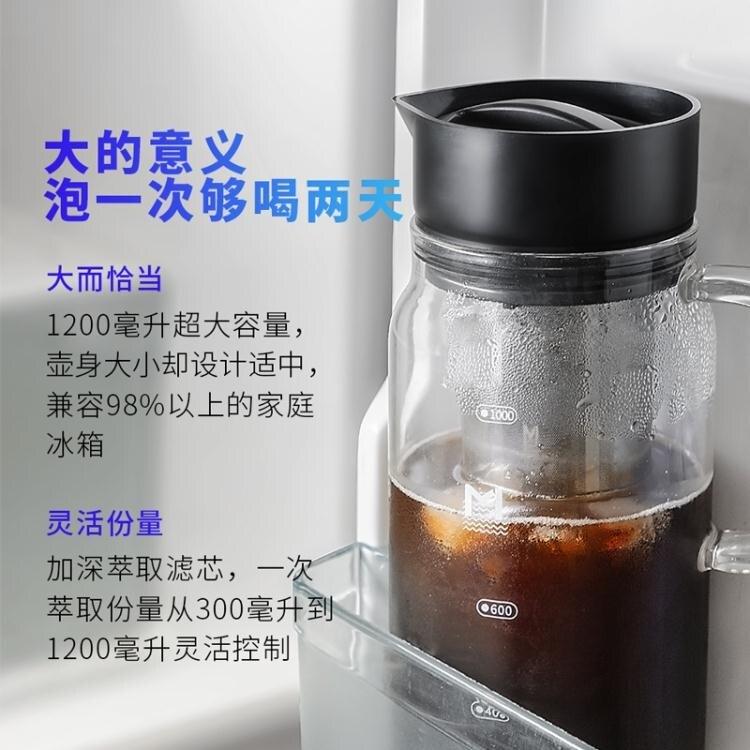 咖啡壺 MAVO咖啡冷萃壺冷泡冰滴冷熱泡茶壺過濾網雙層