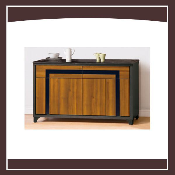 尼克絲鐵刀5尺餐櫃下座(含石面) 2105036161135