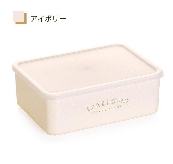 日本製 SANS SOUCI 繽紛保鮮盒 M 保存容器 午餐盒 蔬果盒 500ml 可微波 (蓋不可)/ sab-3014 /日本必買  件件含運 日本樂天熱銷Top 日本空運直送 日本樂天代購