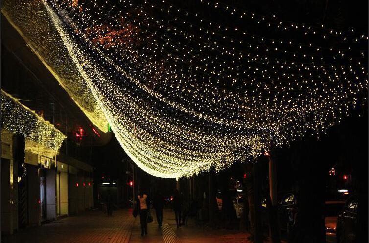 促銷LED聖誕燈 10米100燈 110V 防水燈串 聖誕樹 非冰條燈 流星燈 耶誕燈 流星燈 帳篷燈 聖誕節 交換禮物