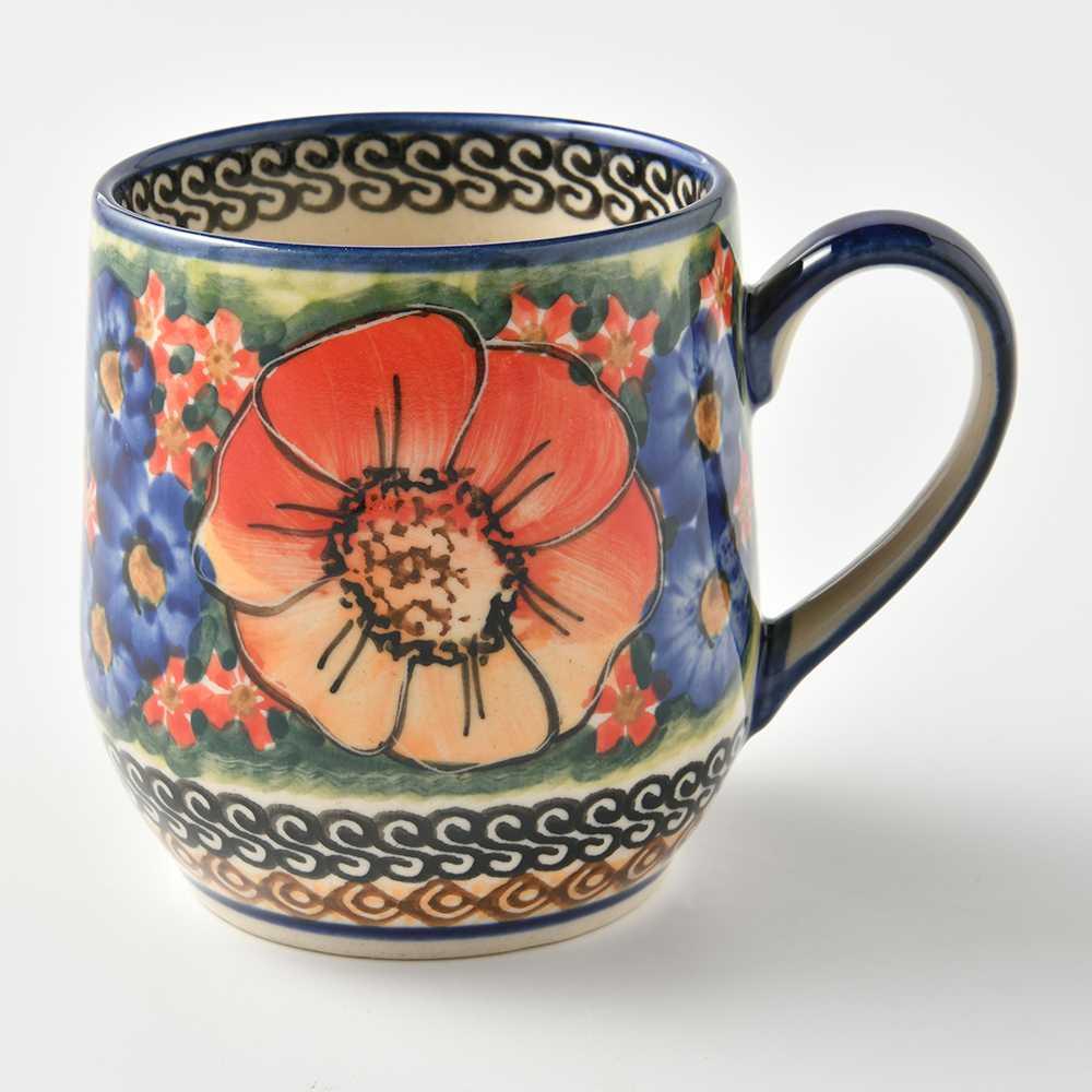 波蘭陶 滿城絕艷系列 卡布其諾杯 馬克杯 咖啡杯 水杯 300ml 波蘭手工製