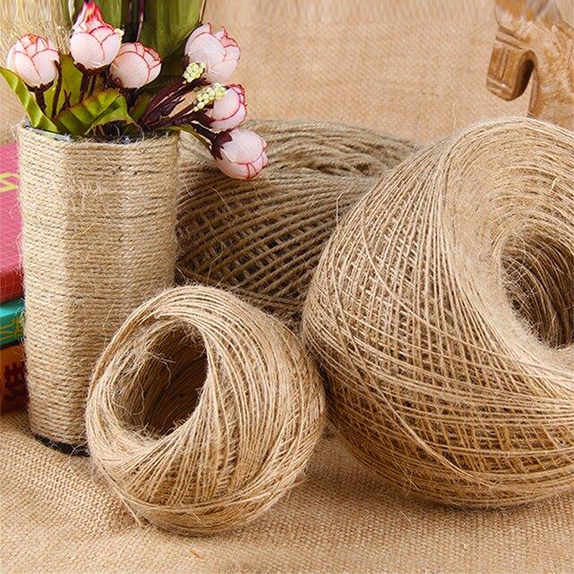 麻繩 大卷手工diy繩子編織制作裝飾品粗麻線捆綁細繩線編制材料