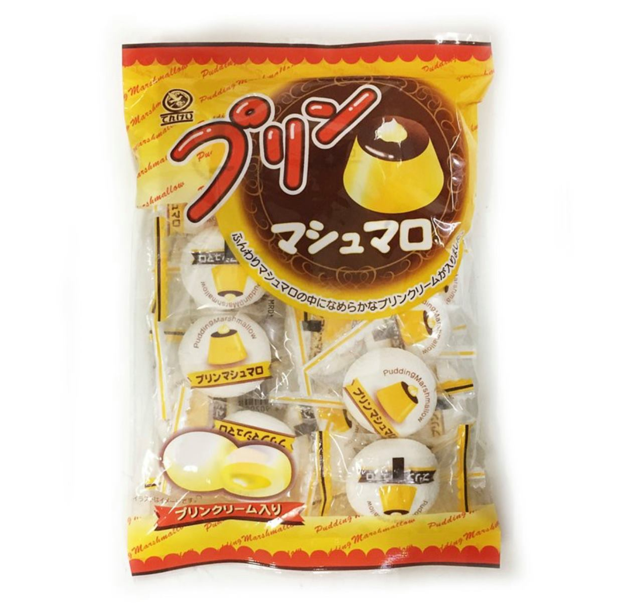 天惠製菓 布丁棉花糖 110g