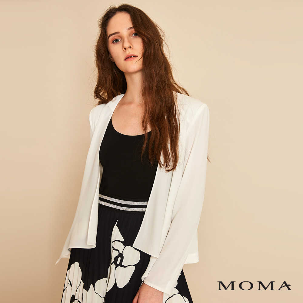 MOMA(01J017)垂墜西裝外套
