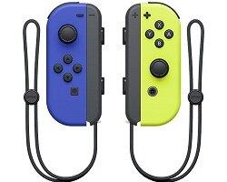 Nintendo Switch Joy-con(左右手套裝)黃色&藍色/綠色&粉紅/電光紅&電光藍/橙&紫 四色款