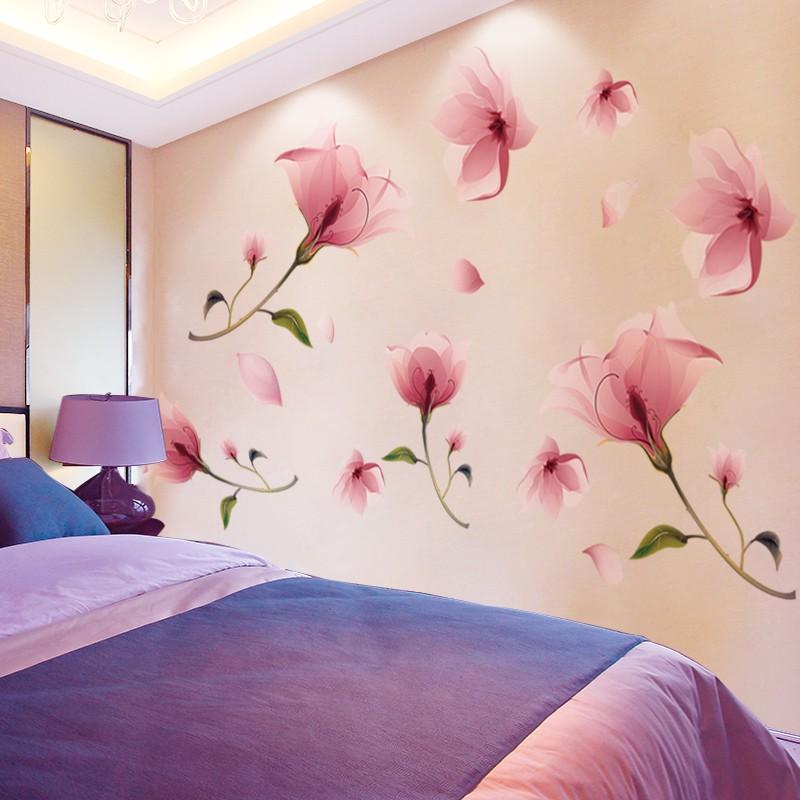 (秒殺價)床頭3D立體房間臥室墻壁背景墻裝飾墻貼紙墻紙自粘墻貼畫貼花溫馨