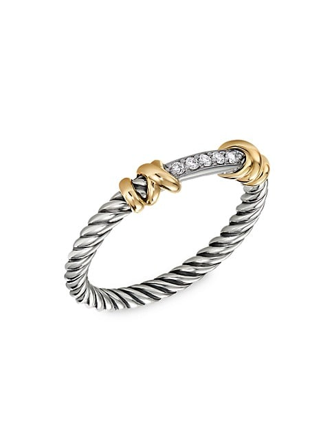 Helena Ring With 18K Yellow Gold & Diamonds