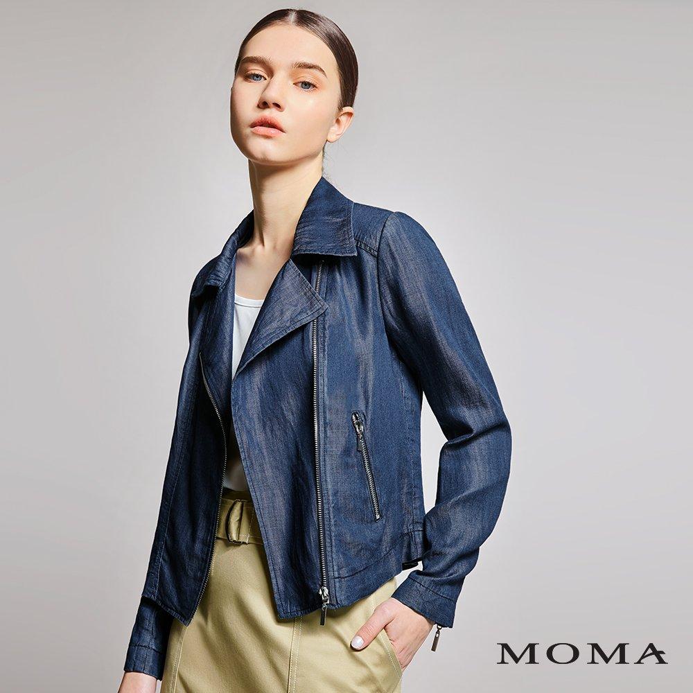 MOMA(01J020)軟質牛仔外套