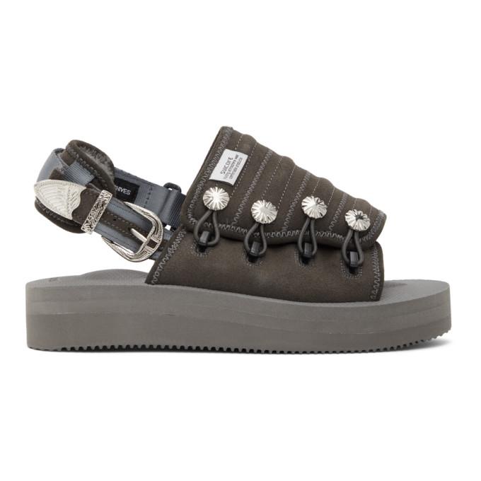 Toga 黑色 Suicoke 联名 Mura-SP 凉鞋